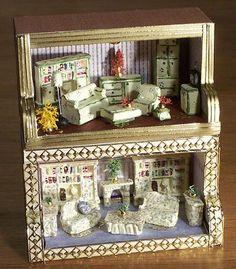 Blog dedicado a las miniaturas y a todos los accesorios de las Casas de Muñecas.