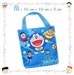 Tas Tenteng Doraemon Canvas Mini Type1 (Rp 14Rb)