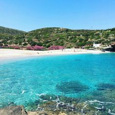 Outstanding Vitali beach in Andros island ❤ Cyclades Islands, Greece Islands, Greece Vacation, Greece Travel, Paros, Beautiful Islands, Beautiful Places, Mykonos, Andros Greece