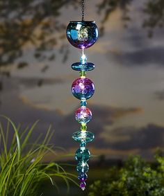 Loving this Hanging Solar Mercury Glass Ornament on #zulily! #zulilyfinds