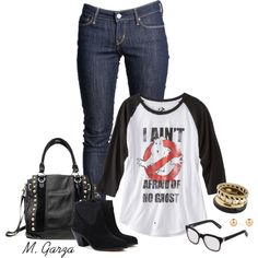 """Ghostbusters Outfit"" by maria-garza on Polyvore"