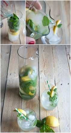 basil-vodka-lemonade, basil-lemonade, basil vodka lemonade, basil lemonade vodka, summer cocktails http://www.sweetphi.com/basil-vodka-lemonade-cocktail-mocktail/ cocktails that can be made into mocktails, summer cocktails, bail cocktails