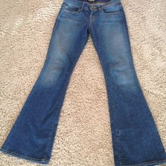 "Forever 21 flare denim jeans Great condition- inseam 33"" Forever 21 Jeans"