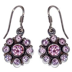 Amazon.com: Zircon Jewelry Sterling Silver Earrings for Teens Gift for Her 1.25 Inches: ShalinCraft: Jewelry