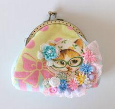 Cat pouches by Masumi Boutique