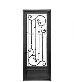 Window Grill Design Modern, Grill Door Design, Gate Design, Design Art, Wooden Door Design, Wooden Doors, Traditional Front Doors, Iron Front Door, Welding Design