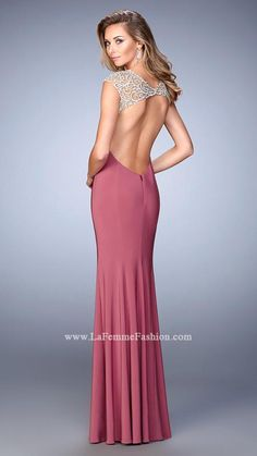 La Femme 21529 | La Femme Fashion 2015 - La Femme Prom Dresses - La Femme Short Dresses