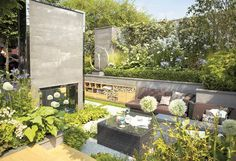 Sitting comfortably: Kate Gould's garden - The Independent