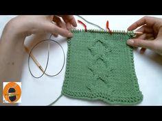 Kössünk! Minta 8 - A lécminta - YouTube Knitting, Youtube, Facebook, Tricot, Breien, Stricken, Weaving, Knits, Crocheting