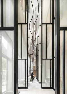 Essential Home at Maison et Objet Hotel Lounge, Lobby Lounge, Hotel Lobby, Screen Design, Door Design, Wall Design, Lobby Interior, Interior Architecture, Interior And Exterior
