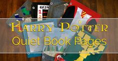 Today I Felt Crafty: Harry Potter Quiet Book Pages Sewing Projects, Diy Projects, Sewing Ideas, Harry Potter Felt, Felt Boards, Felt Quiet Books, Don't Blink, Busy Book, Book Pages
