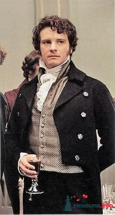 Darcy by Colin Firth in The Pride and Prejudice Mr. Darcy by Colin Firth in The Pride and Prejudice Colin Firth Mr Darcy, Darcy Pride And Prejudice, Jane Austen Movies, Elizabeth Bennet, Drame, Movie Costumes, Actors & Actresses, Celebrities, Clothes