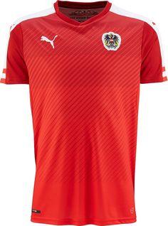 Puma divulga nova camisa titular da Áustria - Show de Camisas