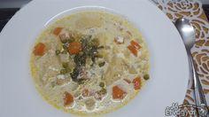 Zöldséges daragaluska leves Oatmeal, Breakfast, Food, The Oatmeal, Morning Coffee, Rolled Oats, Essen, Meals, Yemek