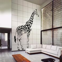 Giraffe | Modula Wall | Yellow Goat Design - Custom Lighting