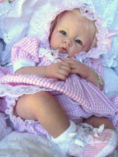 "Reborn Baby Doll Gorgeous ""Shayla"" Elly Knoops Luca | eBay"