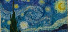 "Van Gogh painted his iconic The Starry Night in 1889, while in an asylum in Saint-Rémy.  ""One of the most beautiful things by the painters of this century,"" he had written to Theo in April 1885, ""has been the painting of Darkness that is still COLOR."""