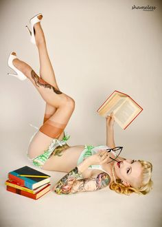 I want to do this because I'm a nerd... AND I love pinup fasion...