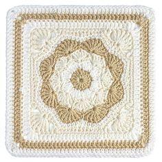 "Ravelry: Harriett Square 12"" pattern by Carolyn Christmas"