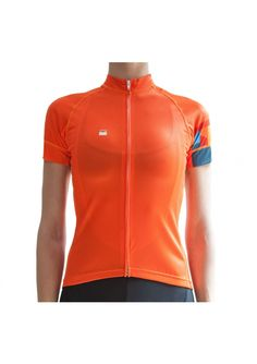 Ornot Women's Safety Orange Jersey - <p>One thing we are really impressed about with this jersey design is how Ornot have managed to create a jersey which is highly visible but also excels in the style stakes too, displaying Ornot's characteristically sharp-but-understated west coast styling. This jersey would be perfect for whiling away the hours in the saddle on longer summer rides as it will offer all-day warm weather comfort.</p>