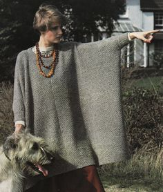 Vintage Machine Knitting Pattern to Make Oversize Jumper