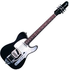 John 5's Fender J5 Telecaster with bigsby tremolo. Sweet guitar but I absolutely HATE that headstock.