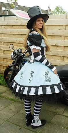 Stitch Punk Alice costumes