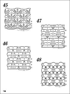 MODELE CROŞETAT (CROCHET PATTERNS)