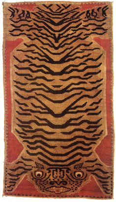 All sizes | Tibetan tiger rug | Flickr - Photo Sharing!