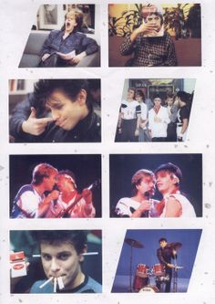 Duran Duran - Funny pics from a Japanese mook.