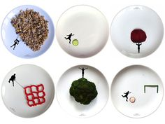 Making Meals Fun with Sports-Themed Plates