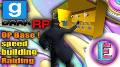 Gmod DarkRP EP 56 -  MAKING UNRAIDABLE  BASE ! MLG (Speed building and s...