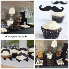 Party so ChicConcept moustaches & Jack Daniels par Party So Chic : Party so Chic