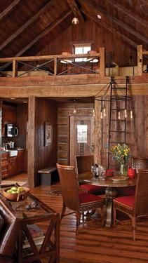 Cabin in the Rough - Family, friends and fish complete this anglers' cabin