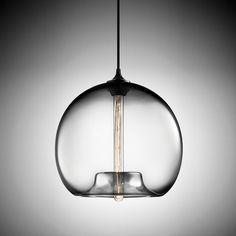 Modern Hanging colorful glass ball / bulb Pendant Lamp with led Lights cord for restaurant living room Kitchen bar Home Lighting, Modern Lighting, Lighting Design, Pendant Lamp, Pendant Lighting, Idee Diy, Glass Ball, Transparent, Interiores Design