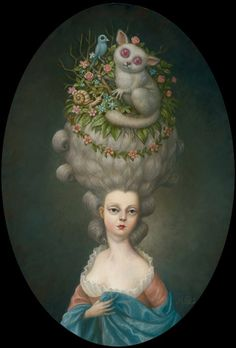 @Sara Payne-Mcfarland, this makes me think of something you would dig   I like Big Hair and I can not lie...