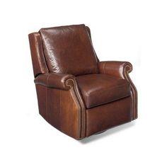 Bradington-Young Stellan Wall-Hugger Recliner Upholstery: 901200-94, Nailhead Detail: French Natural