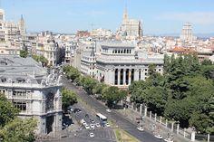 andreessroes fotos: Panorámica de Madrid, desde el balcón del palacio ...