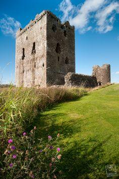 Threave Castle, Castle Douglas, Dumfries and Galloway, Scotland, UK