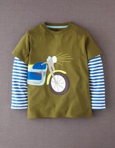 I've spotted this @BodenClothing Big Vehicle T-shirt Fern/Motorbike
