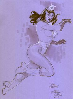 Star Sapphire by Terry Dodson *