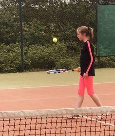 084145a353b505 Tennis Clothes Boys Girls Junior Tennis Apparel Kids. Tennis Leggings Girls  Neon with Ball Pocket Zoe Alexander UK ...