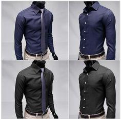 casual-mens-shirts-slim-fit