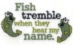 Fish Tremble - 5x7 | What's New | Machine Embroidery Designs | SWAKembroidery.com Starbird Stock Designs