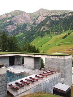 Therme Vals - Grey matter - Vals, Switzerland - 1996 - Peter Zumthor