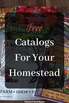 Did you know you could still get real catalogs for your farm or homestead? Check out my list of Free catalogs for your farm or homestead now! Homestead Farm, Homestead Survival, Survival Life, Survival Skills, Farm Plans, D Free, Future Shop, Free Catalogs, Living On The Edge