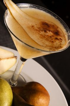 Spiced Pear Cocktail!  Best drink I ever had and would go great as the signature cocktail for a fall wedding.