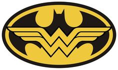 Batman And Wonder Woman Logo - Logo Vector Online 2019 Wonder Woman Wedding, Wonder Woman Birthday, Wonder Woman Party, Batman Wonder Woman, Wonder Woman Logo, Wonder Women, Batman Tattoo, Batman Shirt, Real Batman