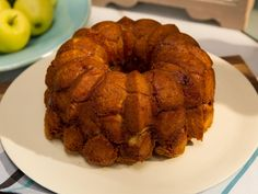Monkey Bread : Save time in the kitchen by starting with packaged biscuit dough, as Katie does. She rolls the dough balls in a fragrant spice mixture, then builds them in a cake pan before blanketing them with an orange-laced cinnamon syrup for warming sweetness.