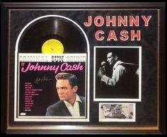 Antiquities LV - Johnny Cash Signed Album, $1,995.00…